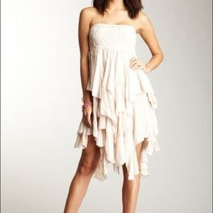 HAZEL STRAPLESS DRESS